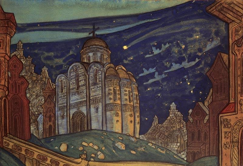 иллюстрации к опере князь игорь рисунки порыв