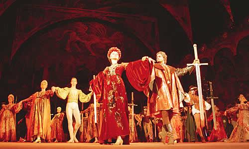 сергей прокофьев ромео и джульетта слушать