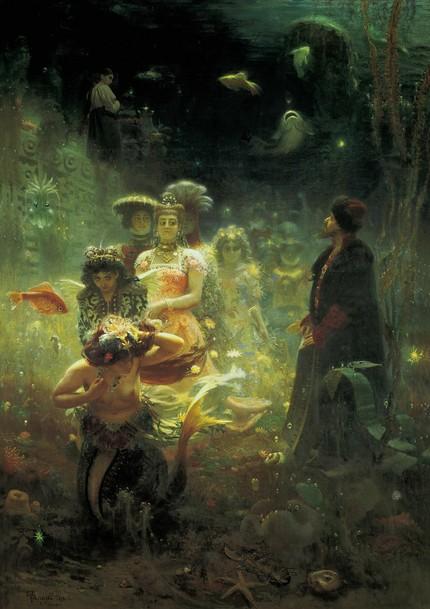 Илья Репин. «Садко», 1876
