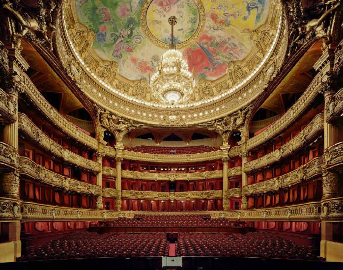 Опера гарнье схема зала