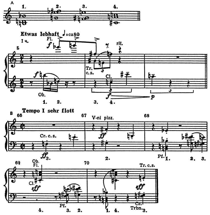А. Веберн. Концерт ор. 24.