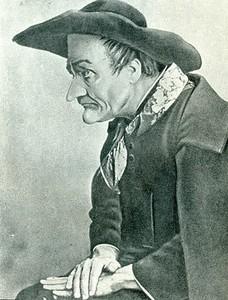 Шаляпин в роли Дона Базилио, Большой театр, Москва, 1912