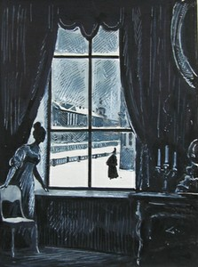 «Пиковая дама». Иллюстрация Юрия Игнатьева