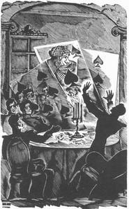 Иллюстрация к повести «Пиковая дама». А. И. Кравченко