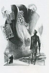 «Пиковая дама». Иллюстрация Романа Писарева