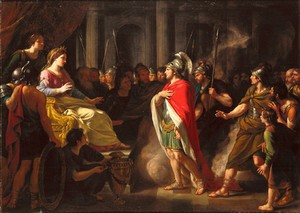 The Meeting of Dido and Aeneas by Nathaniel Dance Holland (1735 – 1811)