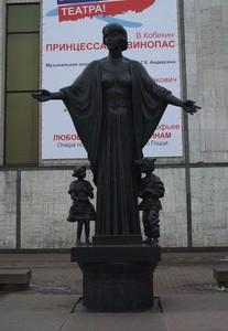 Памятник Н. И. Сац