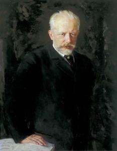 Портрет Чайковского кисти Николая Кузнецова, 1893 год