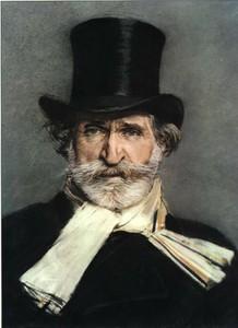 Портрет Джузеппе Верди работы Джованни Больдини, 1886