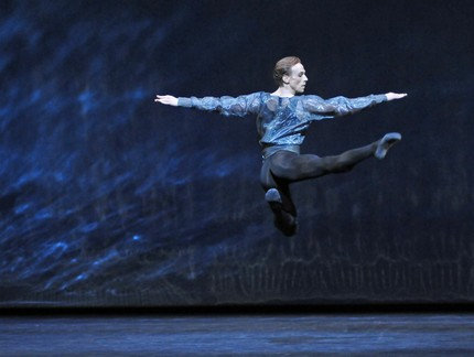 Edward Watson in Alexei Ratmansky's 24 Preludes. © Dave Morgan, by kind permission of the Royal Opera House
