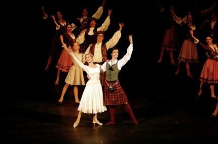 Артём Овчаренко в балете «Сильфида»