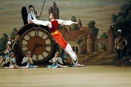 Артём Овчаренко в балете «Коппелия»