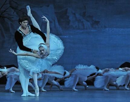 Балет «Лебединое озеро» в Мариинском театре