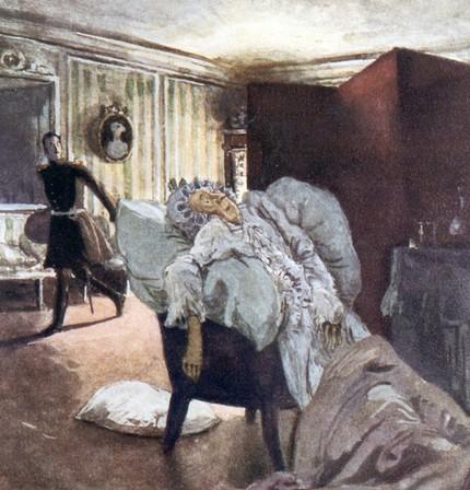 Александр Бенуа. «Смерть графини», 1910