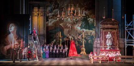 Премьера «Тоски» в Приморском театре оперы и балета