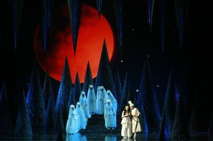 На премьере оперы «Волшебная лампа Аладдина»