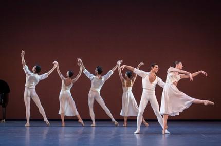 Вечер одноактных балетов в парижской опере Гарнье
