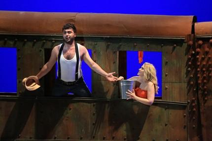 Большой взрыв в опере Прокофьева