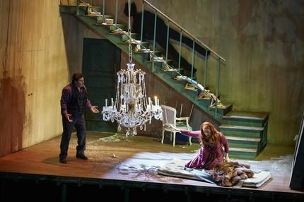 «Девушка с Запада» в Гамбургской опере