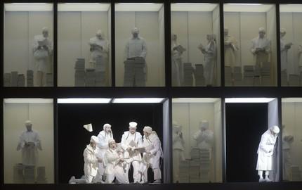Инсталляция «Саломеи» в Мариинском театре