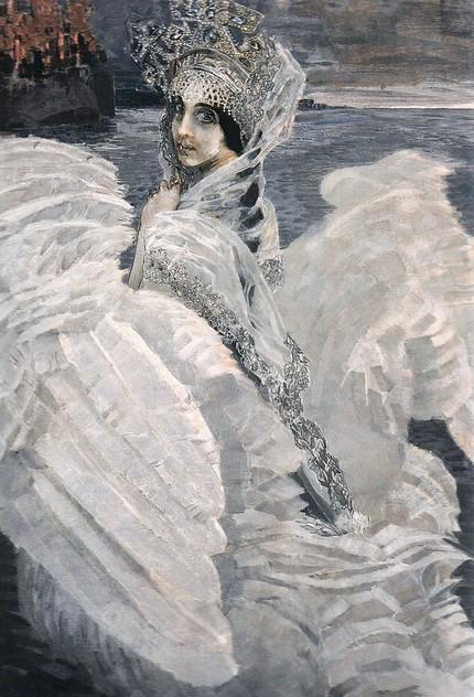 Михаил Врубель. «Царевна Лебедь», 1900