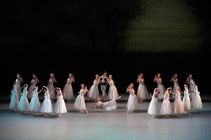 Балет «Шопениана» в Мариинском театре