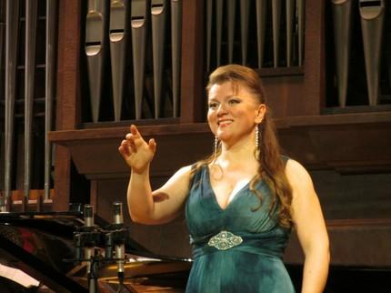 Концерт Любови Петровой в Малом зале Московской консерватории