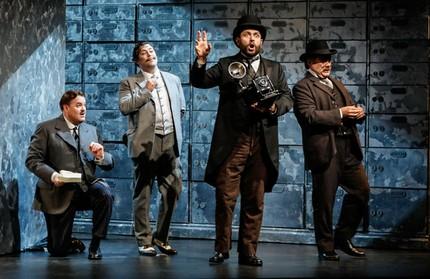 Опера Андре Чайковского «Венецианский купец» прозвучала в Лондоне