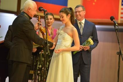 Завершился IV Международный конкурс скрипачей им. Ю.И. Янкелевича