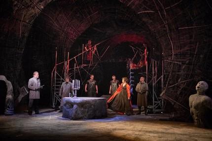 Оперный триллер в «римском котле»