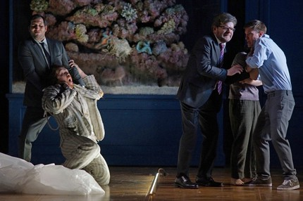 Немецкая премьера оперы Бенджамина/Кримпа «Уроки любви и жестокости»
