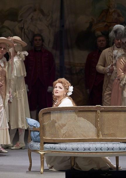 Анна Нетребко и Юсиф Эйвазов в «Андре Шенье» в Венской опере