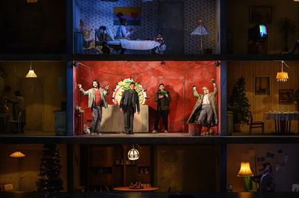 «Богема» в Гамбургской опере