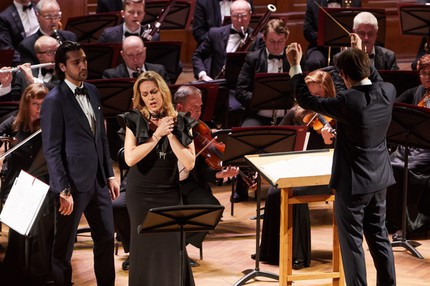 Кунштюк для сопрано и тенора с оркестром