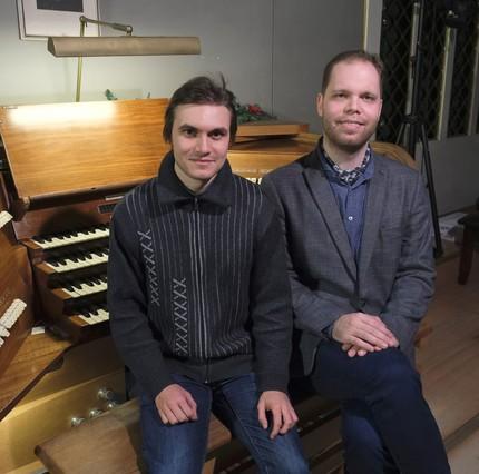 Сергей Уваров и Денис Писаревский