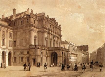 Ла Скала в XIX веке