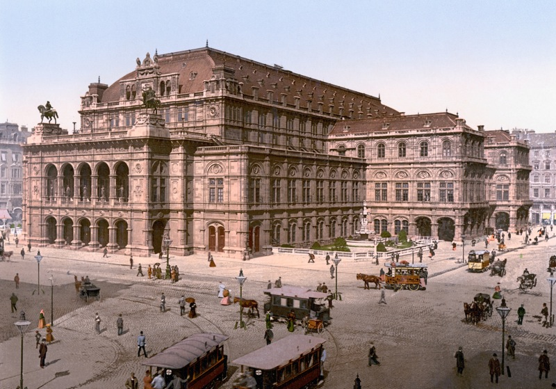 Картинки по запросу открылось здание Венской оперы