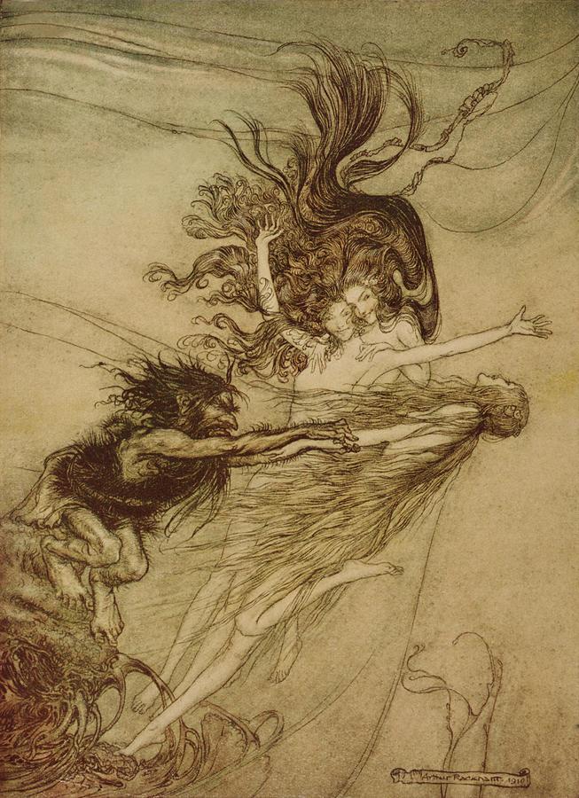Вагнер разбор оперы золото рейна